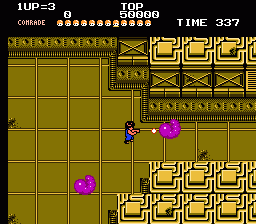 Alien Syndrome (NES)   © Tengen 1988    2/3