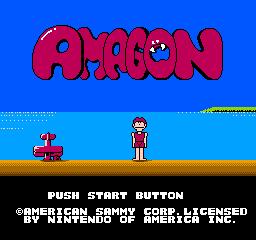 Amagon (NES)  © American Sammy 1988   1/3