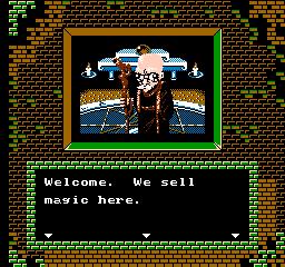 Faria: A World Of Mystery & Danger (NES)  © Nexoft 1989   3/3