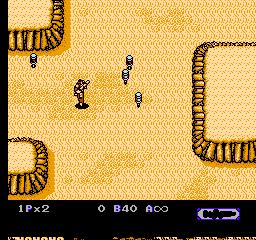 Heavy Barrel (NES)  © Data East 1990   2/3