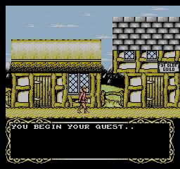 Magician (NES)  © Taxan 1991   2/3
