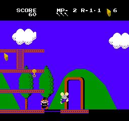 Mappy-Land (NES)  © Taxan 1986   3/3