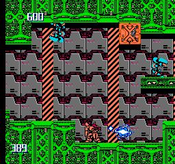 Metal Storm (NES)  © Irem 1991   2/3