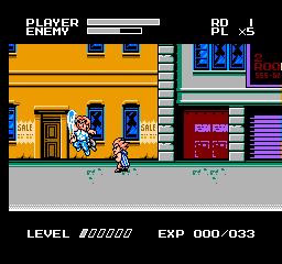 Mighty Final Fight (NES)  © Capcom 1993   2/3