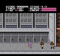 Ninja Gaiden (1988) (NES)  © Tecmo 1988   2/3