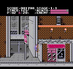 Ninja Gaiden (1988) (NES)  © Tecmo 1988   3/3