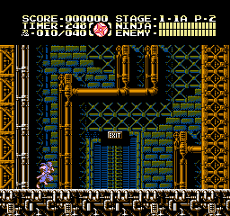 Ninja Gaiden III: The Ancient Ship Of Doom (NES)  © Tecmo 1991   2/3
