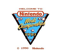 Nintendo World Championships 1990  © Nintendo 1990  (NES)   1/3