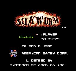 Silkworm (NES)  © American Sammy 1990   1/3