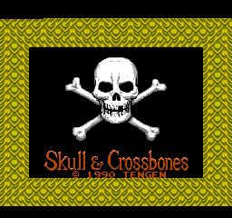 Skull & Crossbones (NES)  © Tengen 1990   1/3