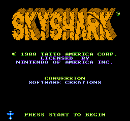 Flying Shark (NES)   © Taito 1989    1/3