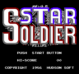 Star Soldier (NES)   © Taxan 1986    1/3