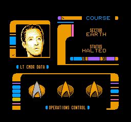 Star Trek: The Next Generation (NES)  © Absolute 1993   2/3