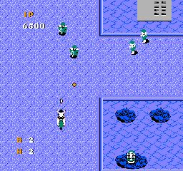 Thundercade (NES)  © American Sammy 1989   2/3