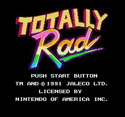 Totally Rad (NES)  © Jaleco 1990   1/3