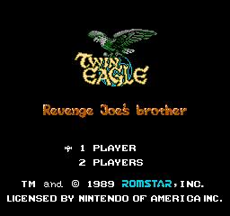 Twin Eagle (NES)  © Romstar 1989   1/3