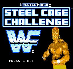WWF Wrestlemania Steel Cage Challenge (NES)  © Acclaim 1992   1/3