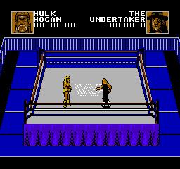 WWF Wrestlemania Steel Cage Challenge (NES)  © Acclaim 1992   2/3