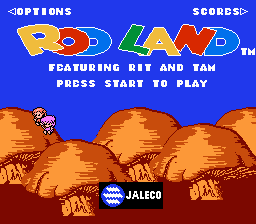 Rodland (NES)   © Sales Curve, The 1992    1/3
