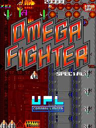 Omega Fighter (ARC)  © UPL 1989   1/3