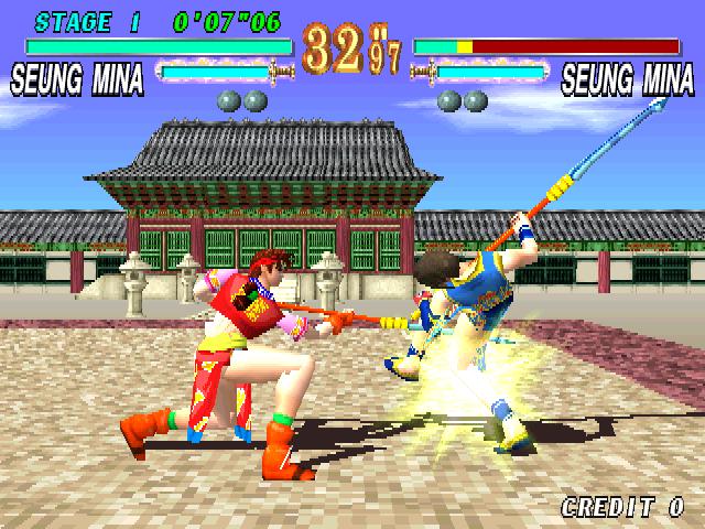 Soul Edge (ARC)  © Namco 1996   4/5