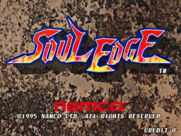 Soul Edge (ARC)  © Namco 1996   1/5