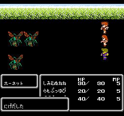 Final Fantasy II (NES)  © Square 1988   3/3