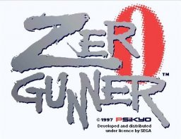 Zero Gunner (ARC)  © Psikyo 1997   1/3