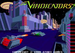 Vindicators (ARC)  © Atari Games 1988   1/4