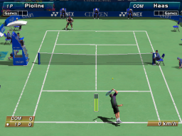 Virtua Tennis  © Sega 1999  (ARC)   3/4