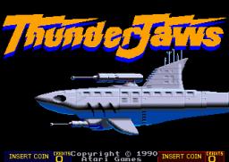 ThunderJaws (ARC)  © Atari Games 1990   1/4