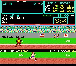 Track & Field (ARC)  © Konami 1983   1/3