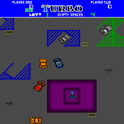 Turbo Tag (ARC)  © Bally Midway 1985   2/3
