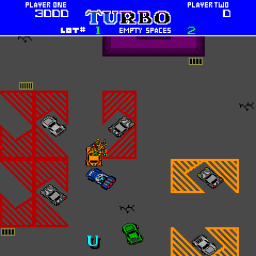 Turbo Tag (ARC)  © Bally Midway 1985   3/3