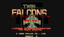 Twin Falcons (ARC)  © Philko 1989   1/4