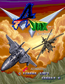 Typhoon (ARC)   © Konami 1987    1/10