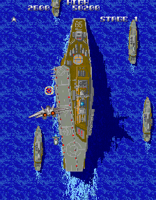 Typhoon (ARC)   © Konami 1987    8/10