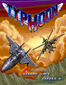 Typhoon (ARC)   © Konami 1987    4/10