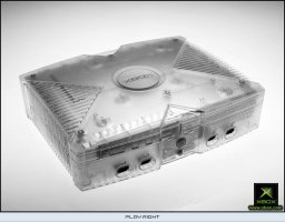 Xbox [Crystal Limited Edition] (XBX)   © Microsoft 2004    3/8