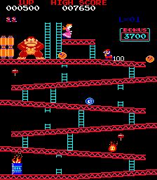 Donkey Kong (ARC)  © Nintendo 1981   2/3