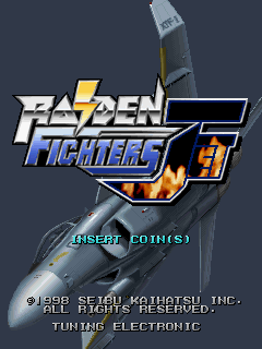 Raiden Fighters Jet (ARC)   © Seibu Kaihatsu 1998    1/14