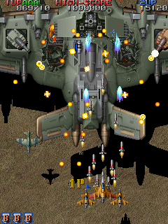 Raiden Fighters Jet   © Seibu Kaihatsu 1998   (ARC)    3/14