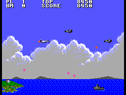 Aerial Assault (SMS)  © Sega 1990   3/9