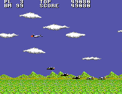 Aerial Assault (SMS)  © Sega 1990   7/9