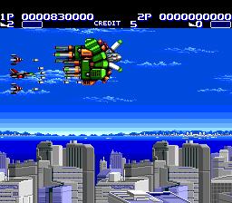 Aero Blasters (PCE)  ©  1990   2/3