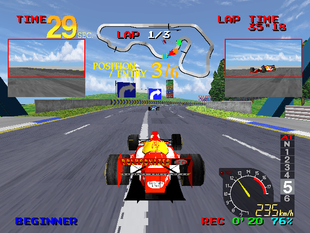 Ace Driver (ARC)  © Namco 1994   5/5
