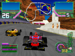 Ace Driver: Victory Lap (ARC)  © Namco 1996   2/2