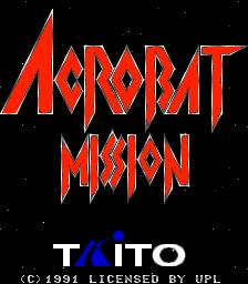 Acrobat Mission (ARC)  © UPL 1991   1/4