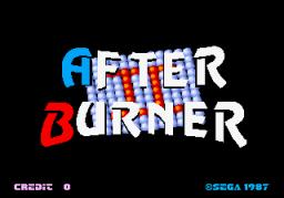 After Burner II (ARC)  © Sega 1987   1/4