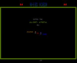 Alien Arena  ©  1985  (ARC)   2/3